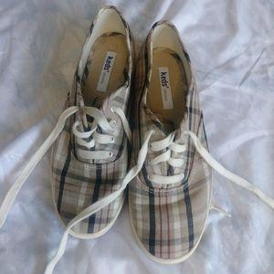 Keds Plaid Sneakers Sz 6.5